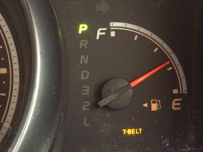 ガソリン一目盛り