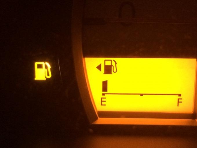 ガソリンメーターが点滅後何キロ走れる?