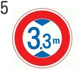 トラックに関する標識5