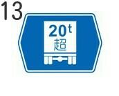 トラックに関する標識13