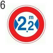 トラックに関する標識6